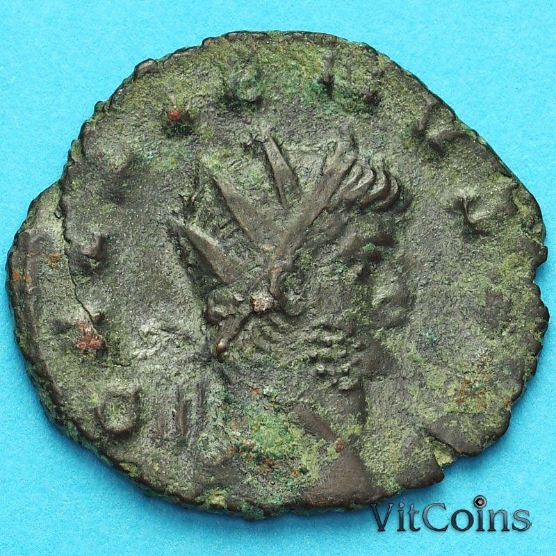 Монета Римская империя, Галлиен,  антониниан, 260-268 год. Виктория.