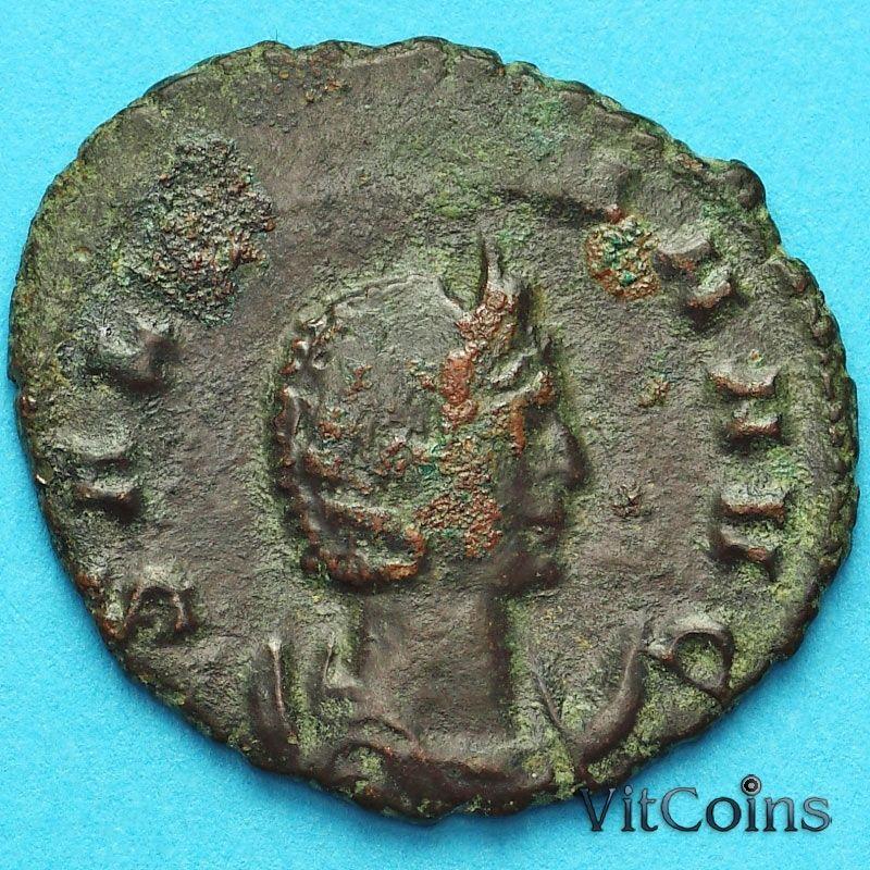 Монета Римская империя, Корнелия Салонина, антониниан 260-268 год. Целомудрие.