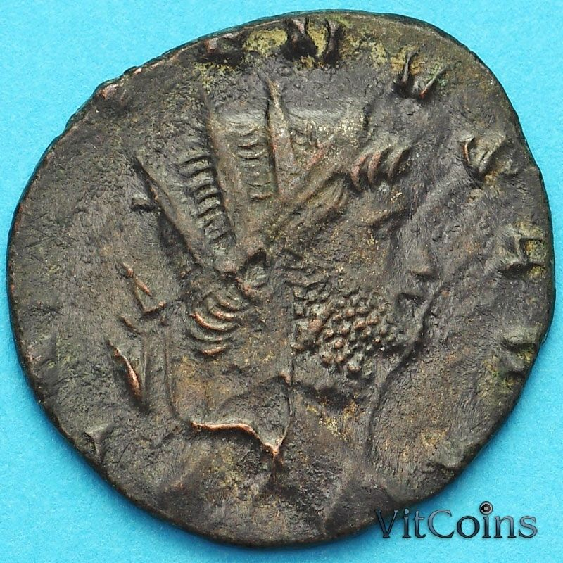 Монета Римская империя, Галлиен,  антониниан, 260-268 год. Секуритас.