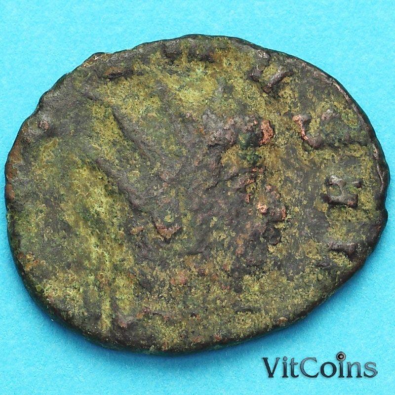 Монета Римская империя, Галлиен,  антониниан, 260-268 год. Виктория. №3