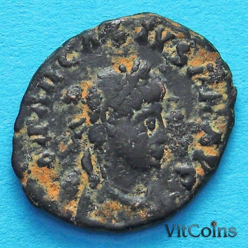 Монета Римская империя, Валентиниан III, фоллис 425-455 год. №2