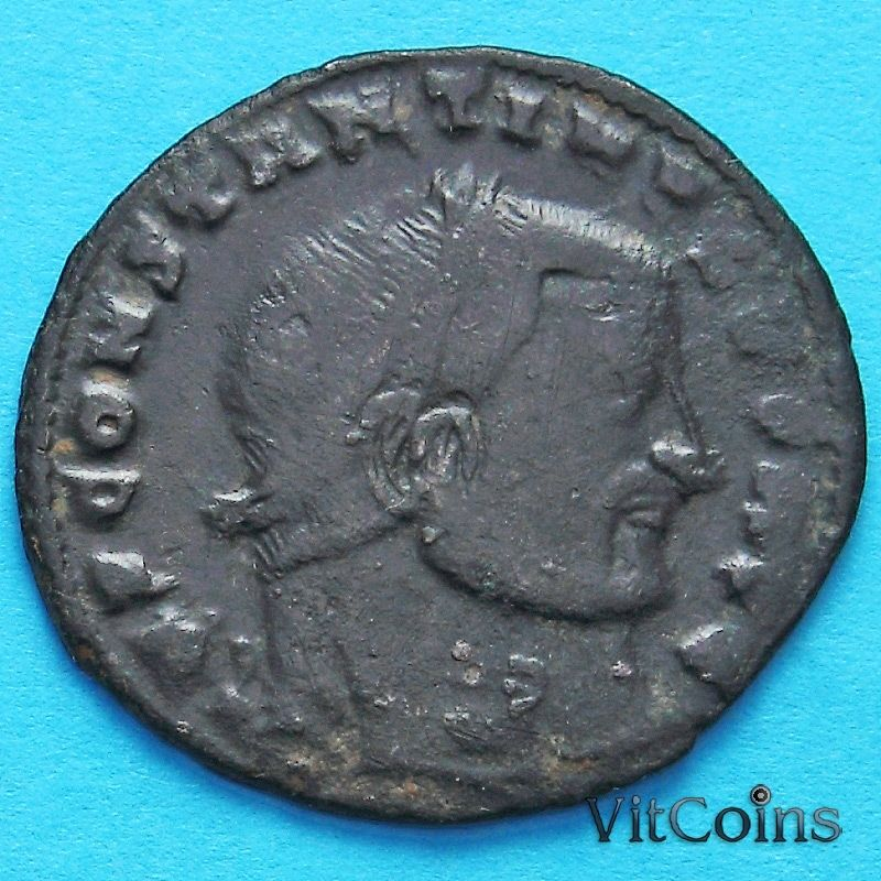 Монета Римская империя, фоллис Константин I Великий 306-337 год. №2