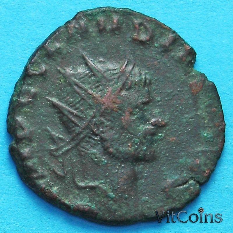Монета Римская империя, Клавдий II,  антониниан, 268-270 год.