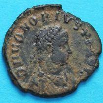 Гонорий, фоллис 395-423 год. Римская империя, АЕ2