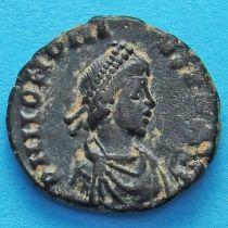 Гонорий, фоллис 395-401 год. Римская империя,