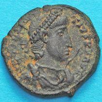 Констанций II. Солдат протыкает копьем падающего вражеского всадника. Римская империя, №6
