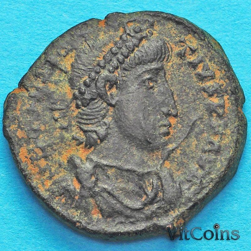 Монета Римская империя, Констанций II, фоллис 337-361 год. №6