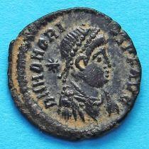 Гонорий, фоллис 406-408 год. Римская империя,