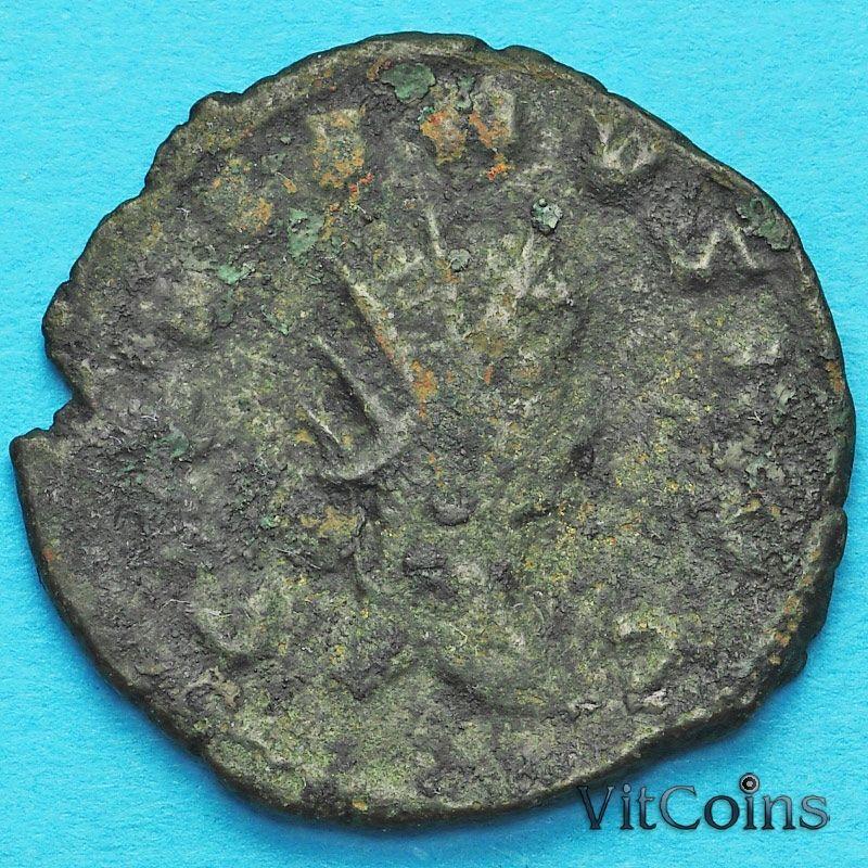 Монета Римская империя, Клавдий II,  антониниан, 268-270 год. Марс.