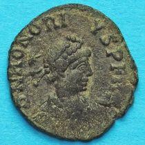 Гонорий, фоллис 408-423 год. Римская империя,