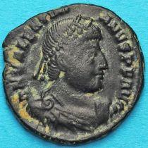Валентиниан I, фоллис 364-375 год. Римская империя,