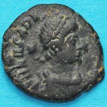 Аркадий, фоллис 406-408 год. Римская империя, №3