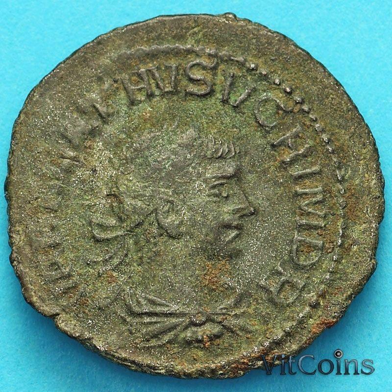 Монета Римская империя, Аврелиан и Вабалат 271-272 год. Римская империя, Пальмира.