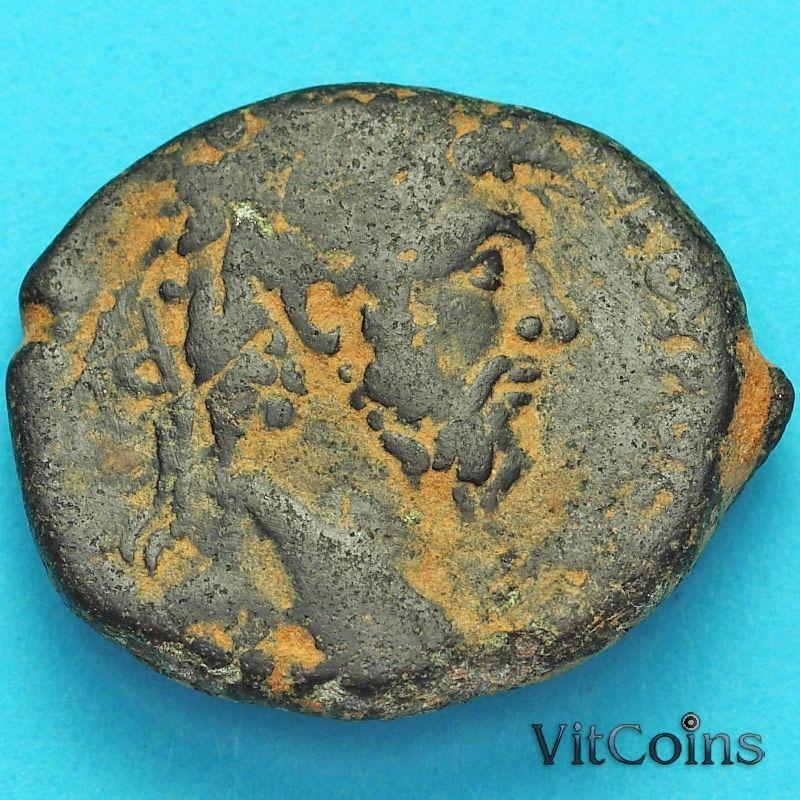 Монета Рим, провинция Сирия, Марк Аврелий 161-180 год.