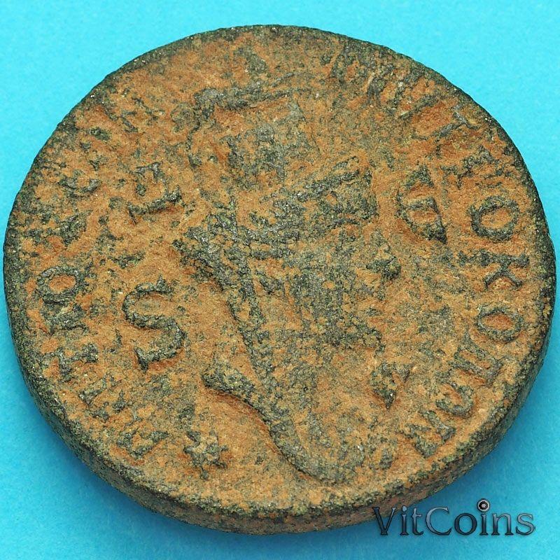 Монета Рим, провинция Сирия, Траян Деций  249-251 год. Тихе.