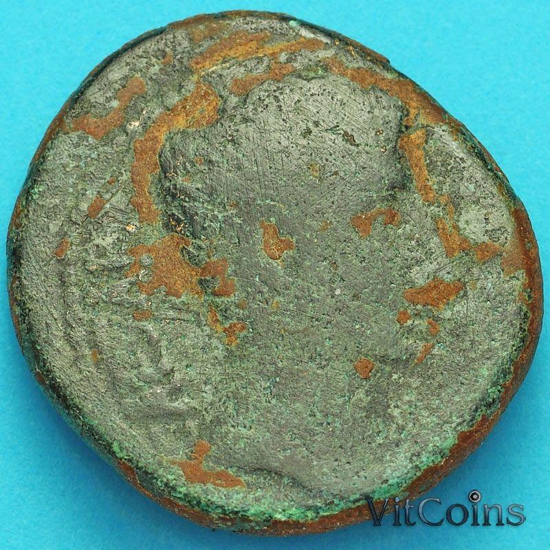 Монета Рим, провинция Сирия, Август  27 гднэ - 14 гнэ. Антиохия. №2