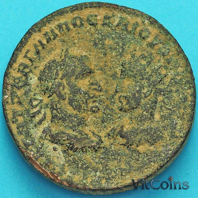 Монета Рим, провинция Вифиния, Марк Аврелий и Луций Вер 161-169 год. №2