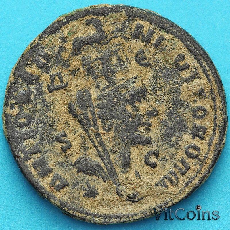 Монета Рим, провинция Сирия, Филипп I Араб 244-247 год.