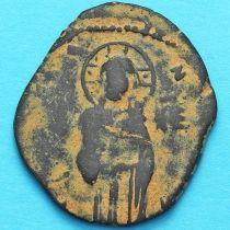 Византия анонимный фолис, Михаил IV Пафлагон 1034-1041 год. №5