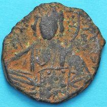 Византия анонимный фолис, Иисус. Роман III Аргир 1028-1034 год. №16