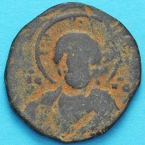 Византия фоллис Василий II 976-1028 год. №9