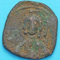 Византия анонимный фолис, Иисус. Роман III Аргир 1028-1034 год. №17