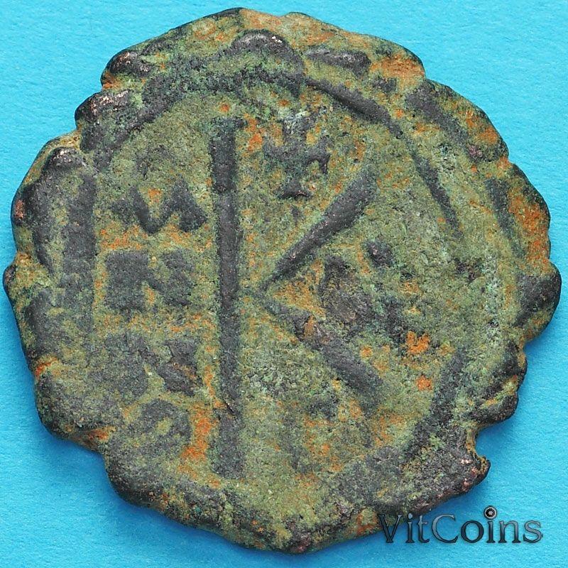 Византия 20 нуммий Маврикий Тиберий 583-584 год.