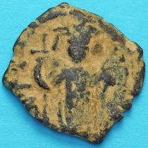Византия фоллис Констант II 641-668 год. №9