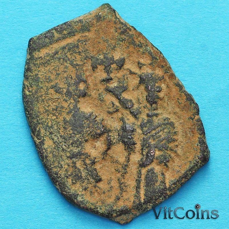Византия фоллис Ираклий, Ираклий Константин 610-641 год. №8