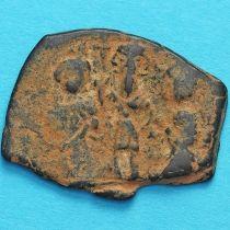 Византия фоллис Ираклий, Ираклий Константин и Мартина 610-641 год. №5