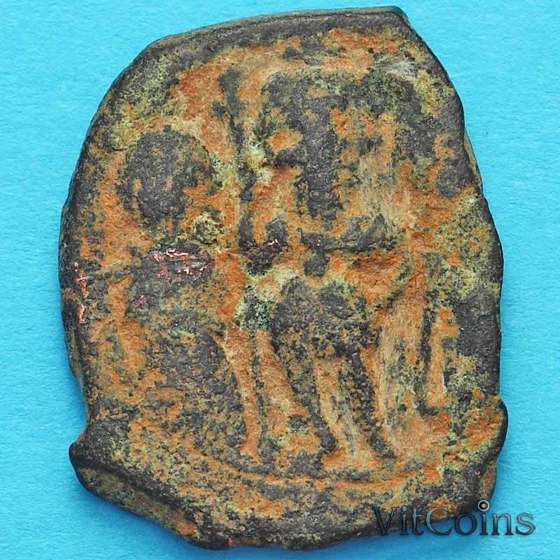 Византия фоллис Ираклий, Ираклий Константин и Мартина 610-641 год. №6
