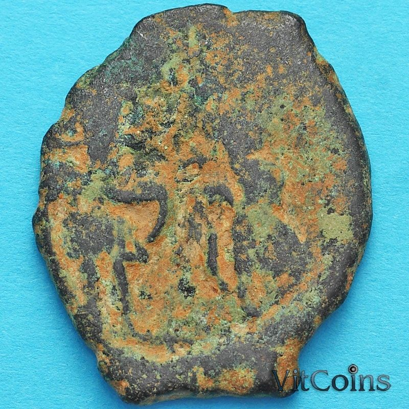 Византия фоллис Ираклий, Ираклий Константин и Мартина 610-641 год. №7