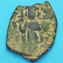 Византия фоллис Констант II 641-668 год. №10