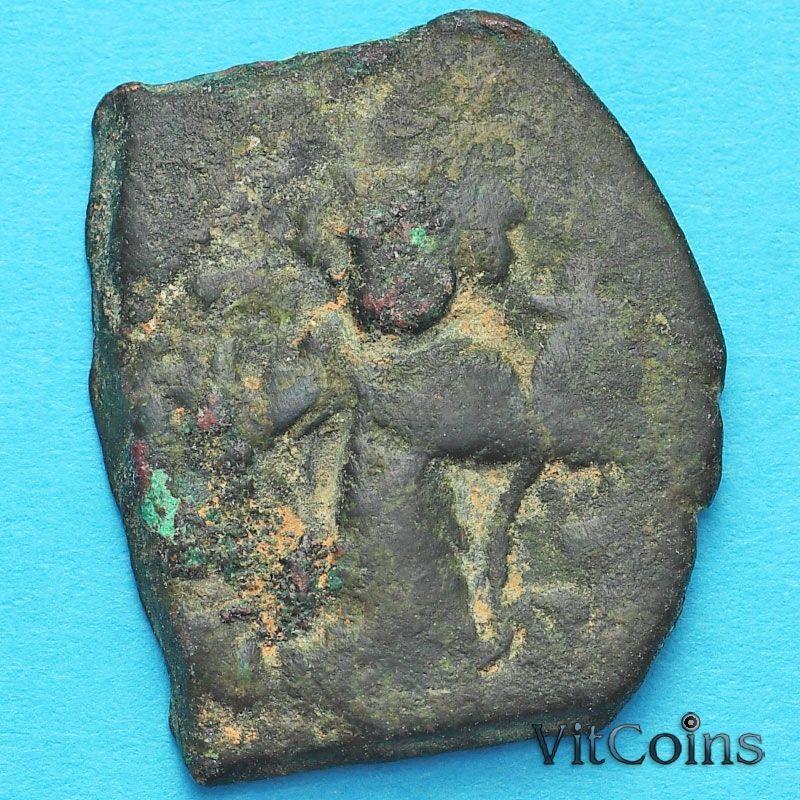 Византия фоллис Констант II 641-668 год. №15