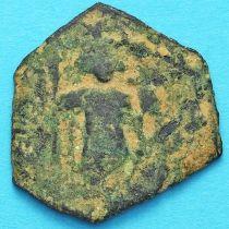Византия фоллис Констант II 641-668 год. №16