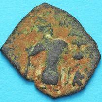 Византия фоллис Констант II 641-668 год. №17