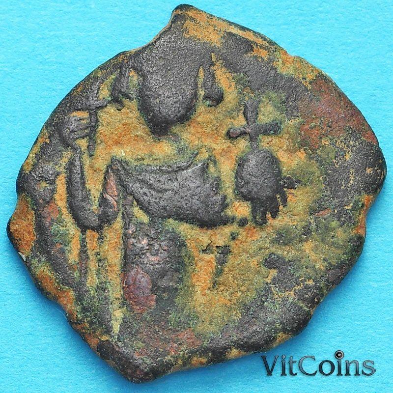 Византия фоллис Констант II 641-668 год. №18