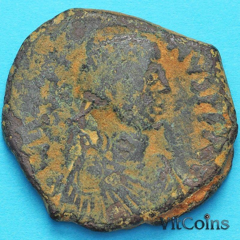 Византия 40 нуммий Юстиниан I 527-532 год. №17