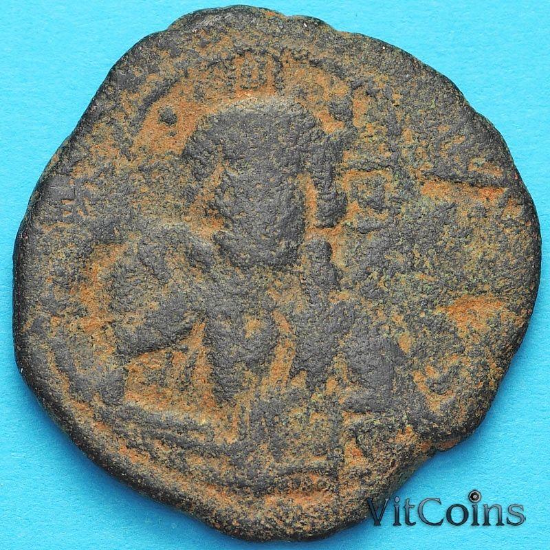 Византия анонимный фоллис, Иисус. Роман III Аргир 1028-1034 год. №19
