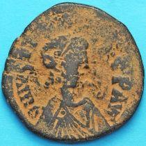 Византия 40 нуммий Юстиниан I 527-532 год. №9