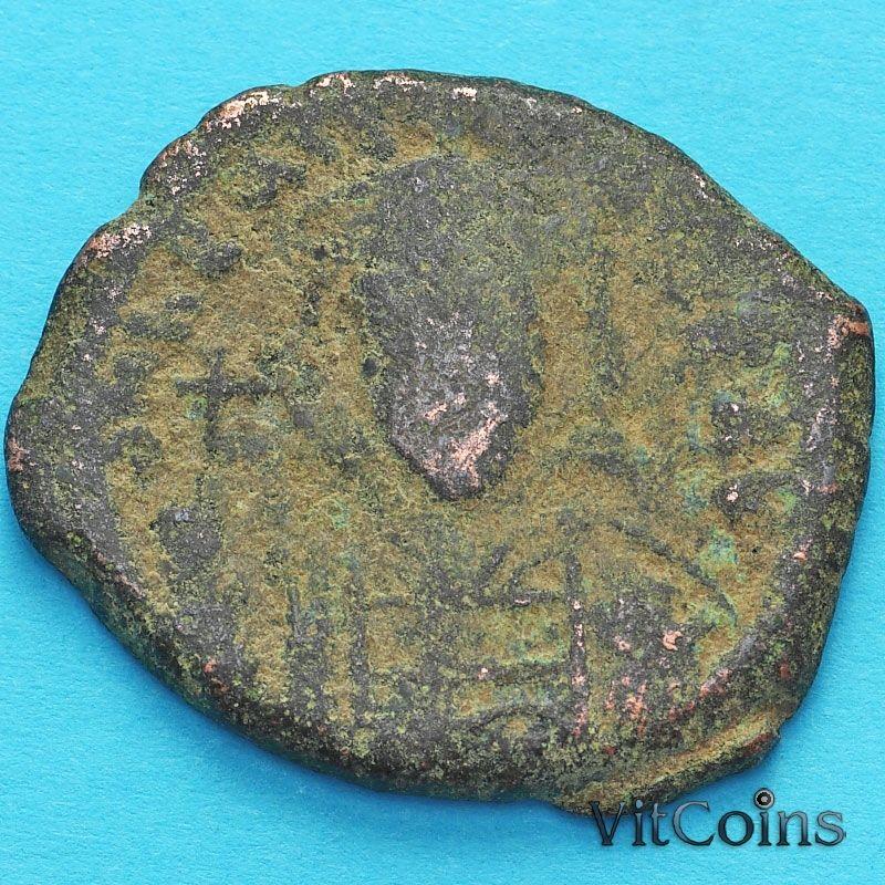 Византия фоллис Констант II 644-645 год. №5