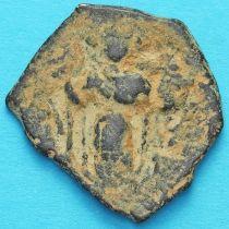 Византия фоллис Констант II 641-668 год. №12