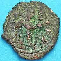 Византия фоллис Констант II 641-668 год. №14