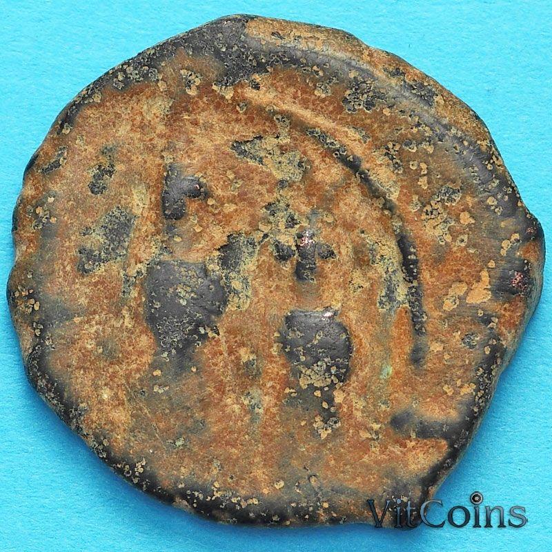 Византия фоллис Ираклий, Ираклий Константин 610-641 год. №9