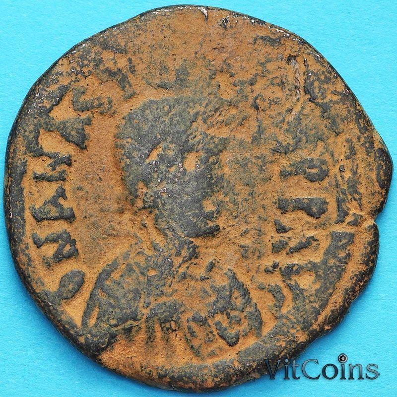 Византия 40 нуммий Юстиниан I 527-532 год. №10
