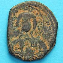 Византия анонимный фолис, Исус. Роман III Аргир 1028-1034 год. №5