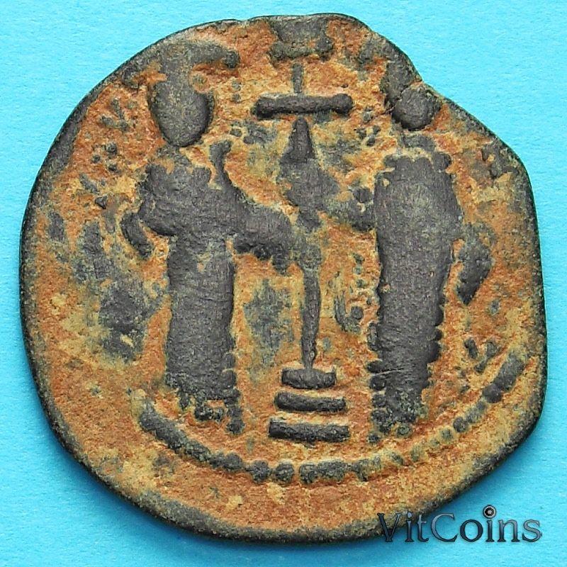Монета Византия фоллис Константин X Дука 1059-1067 год. №4