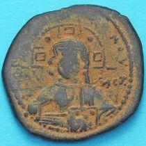 Византия анонимный фолис, Иисус. Роман III Аргир 1028-1034 год. №13