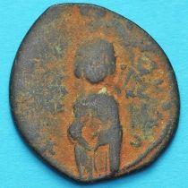 Византия анонимный фолис, Михаил IV Пафлагон 1034-1041 год. №6