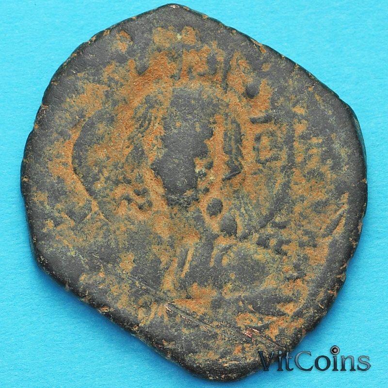 Монета Византия анонимный фоллис, Иисус. Роман III Аргир 1028-1034 год. №14